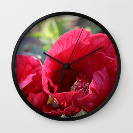 Kingdom Of Red Wall Clock