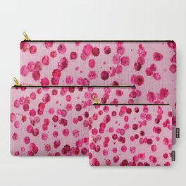 Raining Pink Carry-All Pouch