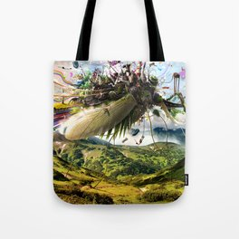 Fleeing Creativity (surreal) Tote Bag