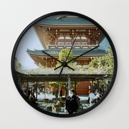 Sensō-ji Temple Tokyo Japan Wall Clock