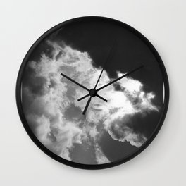 Clouds #1 Wall Clock