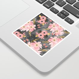 Night Meadow Sticker