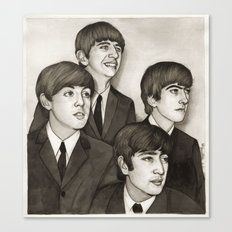 The Fab Four Canvas Print