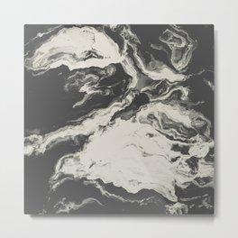 Marble Print Metal Print