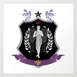 Royal Seal Art Print