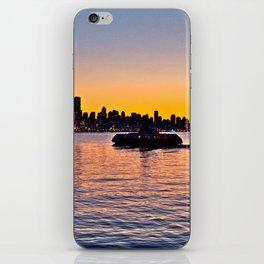Vancouver Skyline iPhone Skin
