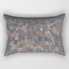 down the brick road Rectangular Pillow