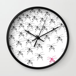 Mosquitoes Wall Clock