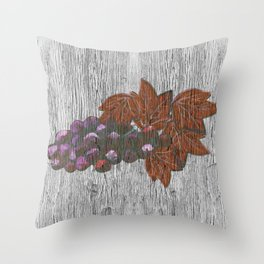 Wine Country Chic Throw Pillow