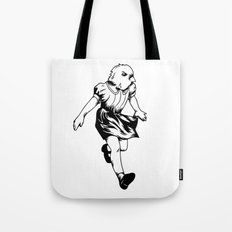 just a girl Tote Bag