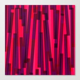 Geometric Pink Purple Painting Canvas Print