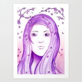 Colour Theme - Purple Art Print