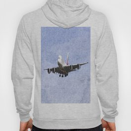 Emirates A380 Airbus Oil Hoody