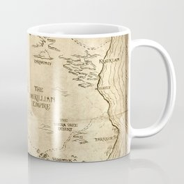 Map of Imirillia Coffee Mug