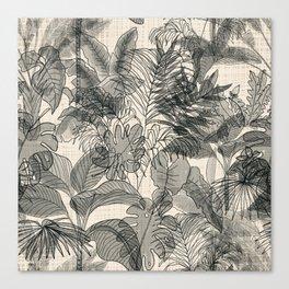 Neutral Jungle Canvas Print