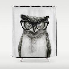 Mr. Owl Shower Curtain