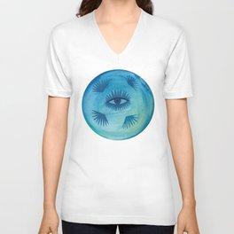 Full Moon Vibes Unisex V-Neck