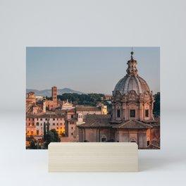 Chiesa dei Santi Luca e Martina Mini Art Print
