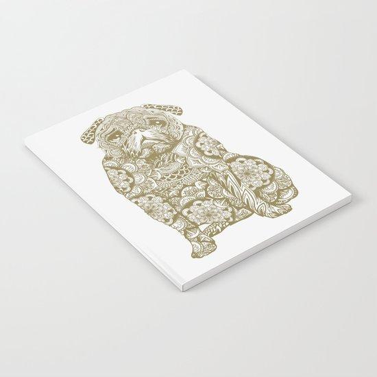 Mandala Pug Notebook