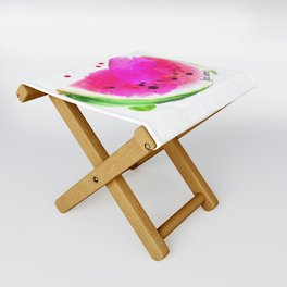 wendy the watermelon Folding Stool