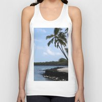palms Tank Tops featuring Palms by Whitebird Photography