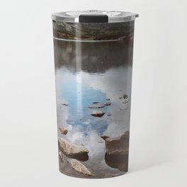 Mountain Lake - Landscape and Nature Photography Travel Mug