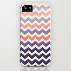 Pink Purple Chevron Slim Case iPhone (5, 5s)