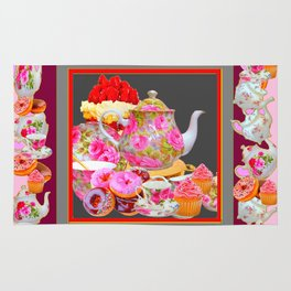 AFTERNOON TEA PARTY  & PASTRY  DESSERTS Rug