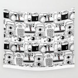 Vintage Cameras Wall Tapestry