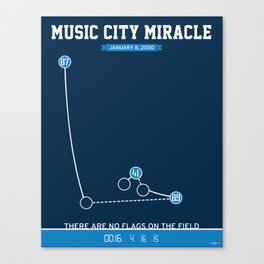 Music City Miracle Canvas Print