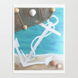 Anchor Beach Poster