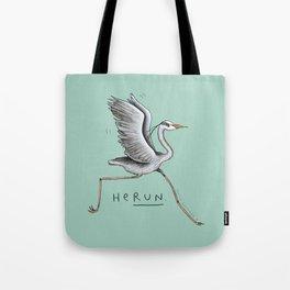 HeRUN Tote Bag