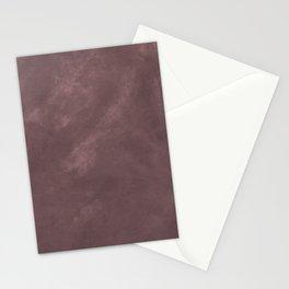 Deep purple velvet fabric Stationery Cards