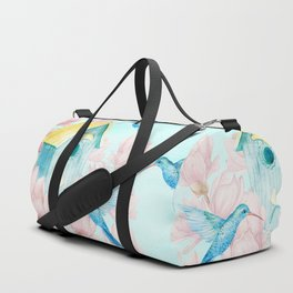 Sweet Summer (Hummingbird Paradise) Duffle Bag