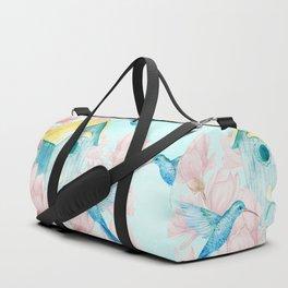 Sweet Summer (Hummingbird Paradise) Duffle Bag