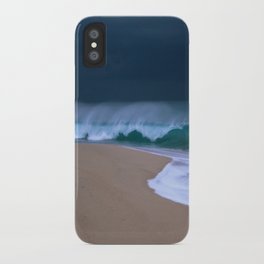 The perfect storm. iPhone Case