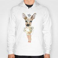 bambi Hoodies featuring Bambi  by Iria do Castelo