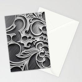 metalic draw Stationery Cards
