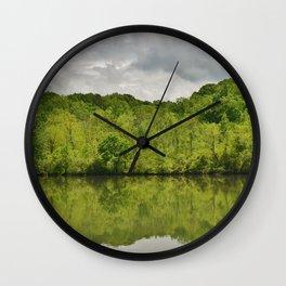 Mirrored Majesty Wall Clock