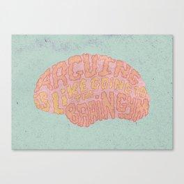 GAVIN McINNES ON ARGUING Canvas Print