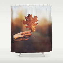 Catching a bit of Autumn Shower Curtain
