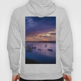 Folly River in Purple Hoody
