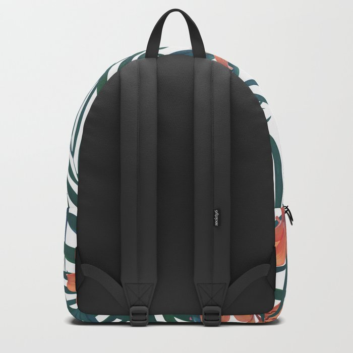 Tropical Lilies Backpack