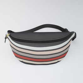 Ekei - Classic 90s Retro Stripes Fanny Pack