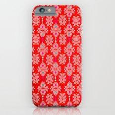Stella in Red Pattern iPhone 6s Slim Case