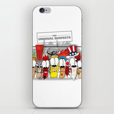The Unusual Suspects iPhone & iPod Skin