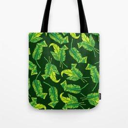 Tropicana Leaves Tote Bag