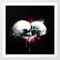 Death Lovers Art Print