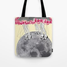C-Over The Moon  Tote Bag