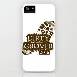 The Dirty Grover iPhone Case